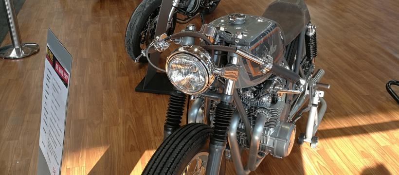 Honda CB Motorradwelt Bodensee